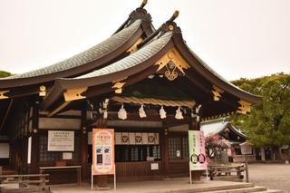 真清田神社の拝殿