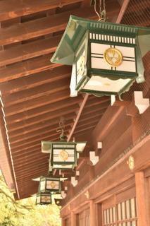 真清田神社のあかり