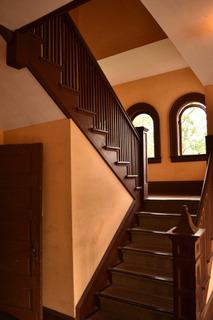 シアトル住宅の階段