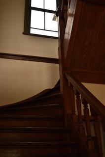 北里研究所の階段